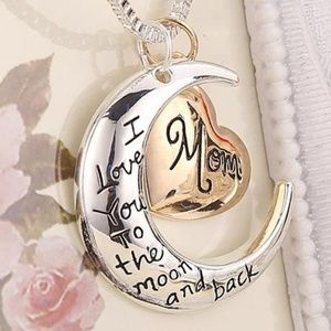 Jewelry - Love you to the moon Mom